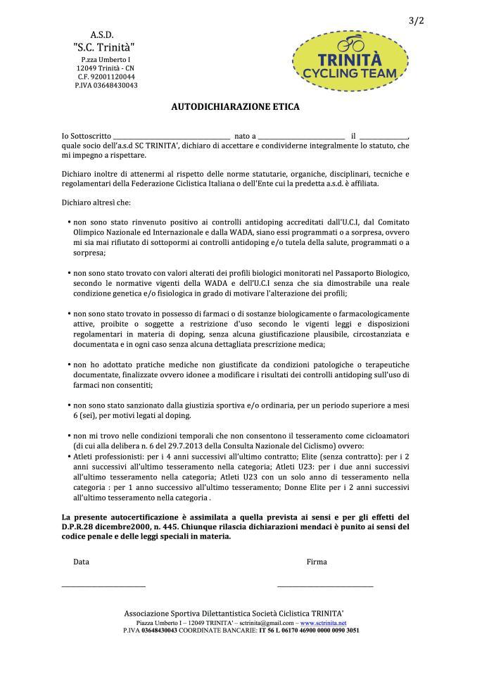 autocertificazione_etica
